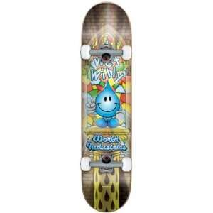 World Industries Wet Willy V2 Complete Skateboard   7.5 x