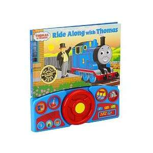 Steering Wheel Sound Book Ride Along with Thomas Toys & Games