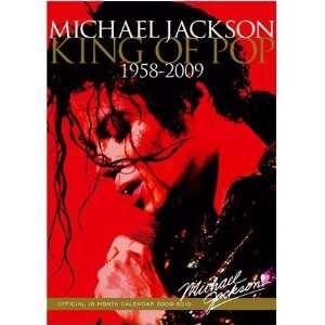 Jackson King of Pop 2010 Wall Calendar 1958 2009