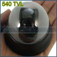 Mini 1/3 Sony CCD Dome Camera Low Consumption 540TVL