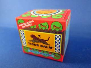 Tiger Balm Pain Relieving Ointment RED 0.63 oz (18g) 039278200102