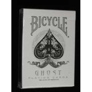 Ghost Deck   Bicycle   Card Magic Trick Accessory Toys & Games