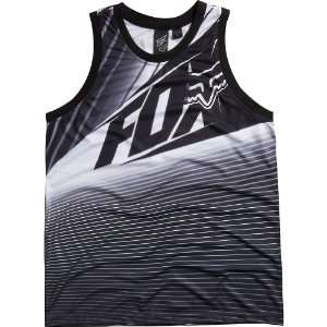 Fox Racing Enterprize Jersey Mens Tank Sportswear Shirt/Top   Black