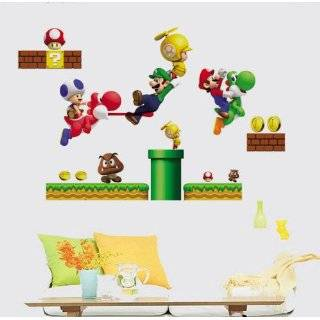 Modern House Super Mario removable Vinyl Mural Art Wall Sticker Decal