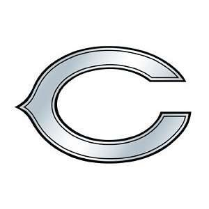 Chicago Bears Silver Auto Emblem Automotive