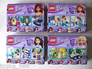 New Lego Friends Sets Andrea 3932 Olivia 3933 Stephanie 3935 Emma