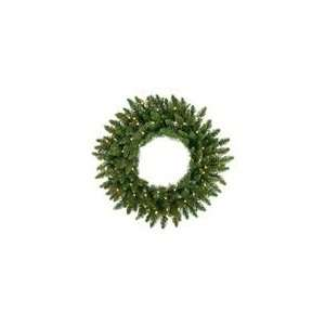 LED Camdon Fir Artificial Christmas Wreath   Warm Whi