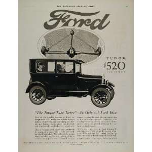 1926 Ad Ford Model T Tudor Sedan Car Torque Tube Drive