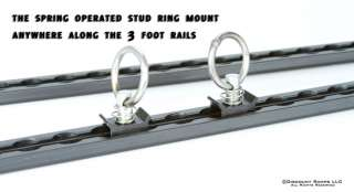 NEW TIE DOWN TRAILER STUD RING FOR L TRACK CARGO RAILS (STUD RING