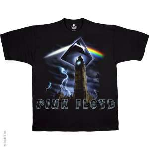 Pink Floyd Big Ben T Shirt (Black), M