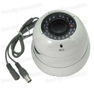 540 TVL Waterproof Sony CCD Color Dome Camera 36 IR Led Night Vision