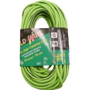 50 Green Extension Cord with Lighted End