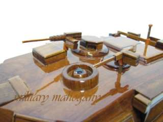 M1 MIA1 MIA2 ABRAMS ARMY USMC MARINE TANK MAHOGANY WOOD WOODEN DISPLAY