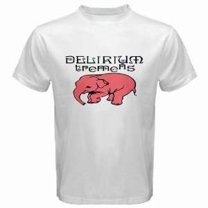 DELIRIUM TREMENS beer Logo New White T Shirt Size  M