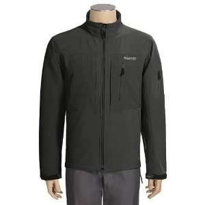 Sage Swiftwater Fleece Jacket   Soft Shell   Black Sports