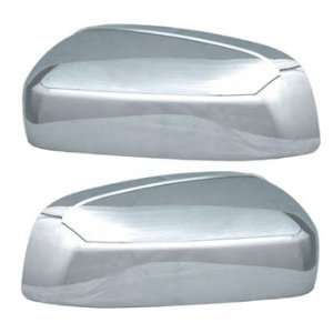 2010 Chevrolet Suburban Truck Chrome Mirror Cover Kit (Top Half Only