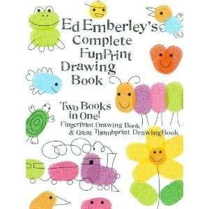 Complete Funprint Drawing Book (Turtleback School & Library Binding
