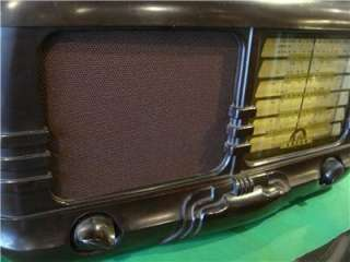 Antique Art Deco Bakelite Aust. ASTOR Large Valve Radio c.1940s Era