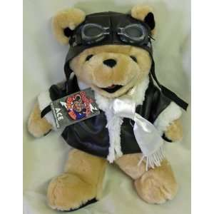 THE GRATEFUL DEAD 14 INCH ACE PILOT BEAN BEAR STUFFED