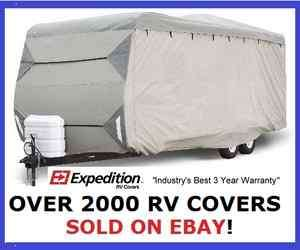 Travel Trailer Cover For RV Travel Camper 27   30 692089001179