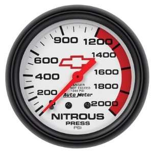 Auto Meter Phantom Chevy Bowtie Analog Gauges Gauge, Phantom, Chevy