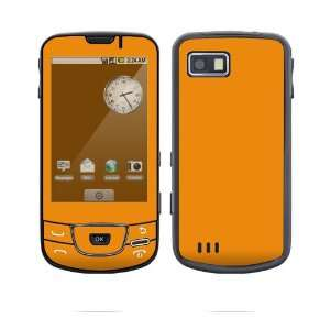 Simply Orange Decorative Skin Cover Decal Sticker for Samsung Galaxy