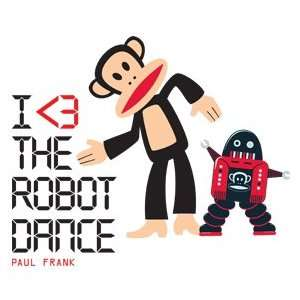 Paul Frank Julius I Love Robot Dance Wall Sticker Decal