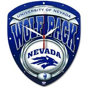 NCAA Nevada Wolf Pack High Definition Clock Sports