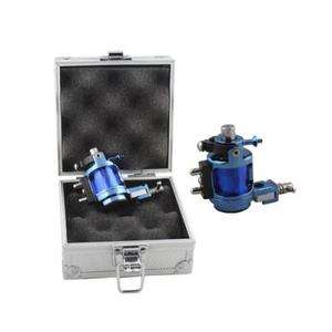 handmade Rotary Tattoo Machine Motor Gun F liner shader kit+alloy BOX
