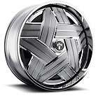 SPIN Crown Wheel SET Chrome Spinner 26x10 RWD 5 & 6 LUG RIMS 26inch