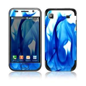 Blue Flame Decorative Skin Cover Decal Sticker for Samsung Galaxy S GT