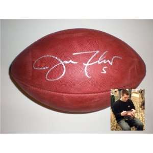 Joe Flacco Autographed/Hand Signed Official Nfl Ball