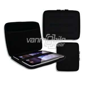 Hard Durable Nylon Shell Case w/ Interior Mesh Pocket for Apple iPad 2
