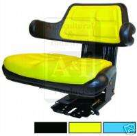 TRACTOR SEAT FITS MOST JOHN DEERE ADJ ANGLE AND SUSP