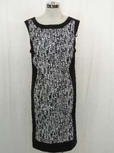 NWOT LANE BRYANT SLEEVELESS PRINT DRESS, sz 22