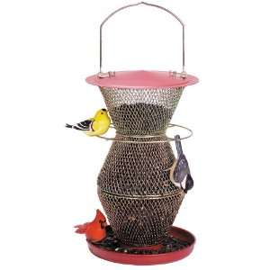 No No Feeder Red & Brass 3 Tier Standard Patio, Lawn