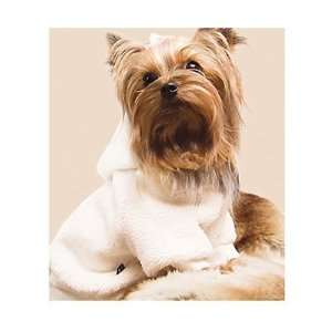 Whisper Fleece Dog Hoodie   Ivory   Mini