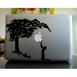Apple Macbook Vinyl Decal Sticker   Giant Apple Tree