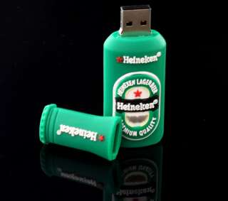 Beer Bottle Shaped Style Memory Stick USB Flash Memory Drive New Gift