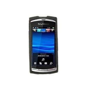 On Case for Sony Ericsson Vivaz (Black) Cell Phones & Accessories