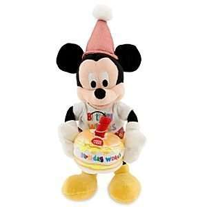 Happy Birthday Mickey Mouse Bean Bag Plush    9 Toys & Games