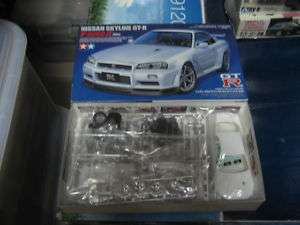 Nissan Skyline R34 GT R 1/24 model kit Tamiya