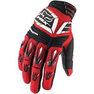 Fox Racing Pawtector Gloves   11/Red Automotive