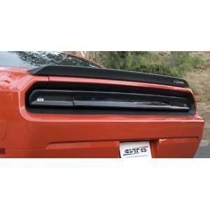 GTS GT4163 Dodge Challenger Tail Light Covers   Smoke   Center Section