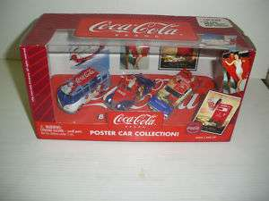 JOHNNY LIGHTNING COCA COLA POSTER CAR COLLECTION 164
