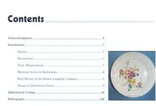 Homer Laughlin China Guide to Shapes & Patterns