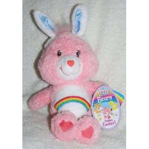 com 2004 Care Bears 8 Plush Fluffy Easter Cheer Bear with Bunny Ears