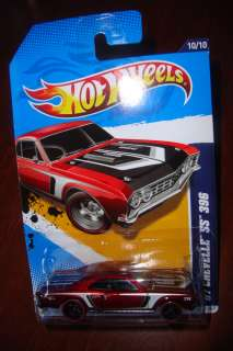 CHEVELLE 396 SS HOT WHEELS TREASURE HUNT T TH SUPER HIDDEN SECRET 2012