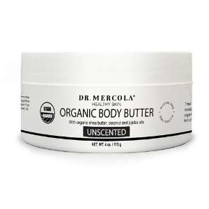 USDA Certified Organic Natural Body Butter   Unscented