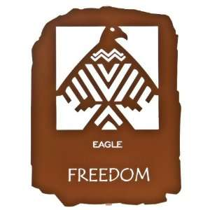 12 Native American Freedom Metal Wall Art by Bindrune